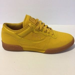Fila Original Fitness Rare Nubuck Leather Yellow